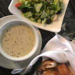 Try the Turkish style yogurt soup! Just like in Istanbul.