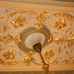 Beautiful ceiling...so much to see in every room.
