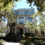 One of the picturesque homes in Savannah