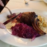 A well known entree - the Elk Chop
