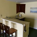 Kitchenette of Waterfront Queen Suite