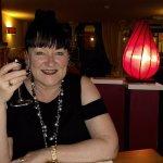 Yummy Malbec wine and delightful surroundings