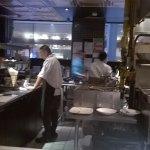 View from the chef's table