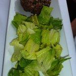 Tasty beef tartar