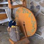 Sera's spinning wheel.