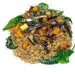 wild mushroom and farro risotto.