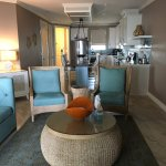 Kitchen and living room of Signature Villa 102 on 3/28/2017