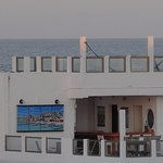 This view of Casa Sirena is from the rooftop of nearby Hotel D'Gomar.