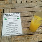 Tir Na Nog Restaurant with breakfast