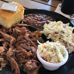 Pulled pork and brisket - YUM!