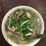 Pho Tai Nam - Raw beef flank + brisket