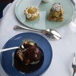 Charriot de desserts