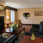Living Space in our Presidential Suite