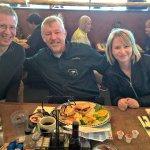 Congressman Kilmer enjoys lunch