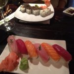 A la carte nigiri - salmon, tuna and line fish