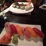 A la carte nigiri - salmon, tuna and line fish