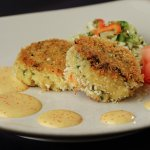 Our signature crab cakes