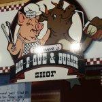 Foto de Danna's Barbeque & Burger Shop