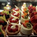 Beautiful creations inside the bakery.