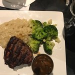 Filet with risotto