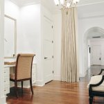 A private dressing room in the new Planters Inn Charleston City Market Suite