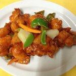 fry rice/ chicken