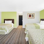 Three Queen Suite bed