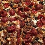 Sea of pizza heaven!!!!