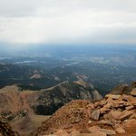 View from the top of PIke's Peak