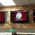 TV screens that show all the yummy delicious tacos featured on FIOS 1 Restaurant Hunters!