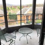 Nice sized screened balcony