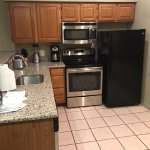Nice SS appliances and granite countertops