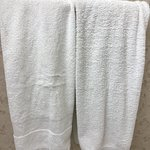 Bath towels do not match and look worn