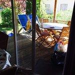 Terrasse chalet zen