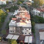 View from a city-side room at the Marmara, Antalya