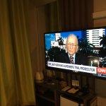 TV blocking mirror