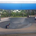 Biggest skate park the boys have been on ;)