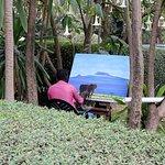 Artist in the Gardens