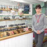 Louisa popped by the shop