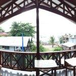 Dorm's balcony