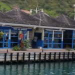 The local ferry terminal in Marigot