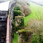 One of the old viaducts even showing where the old wodern bridge was before!