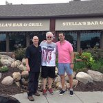 Bro's at Stella's together after 40 years!