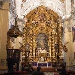 Main altar of the church.