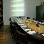 The Riserva, the smaller of Chianti's private dining rooms