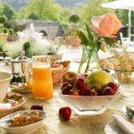Petits déjeuners en terrasse en fonction de la météo