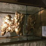 gold nugget display