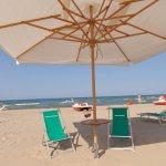 Spiaggia privata a uso esclusivo dei nostri Ospiti