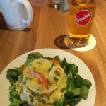 Salat & Apfelschorle