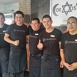 Very attentive staff that served great food at Coexist Cafe in Puerto Vallarta.